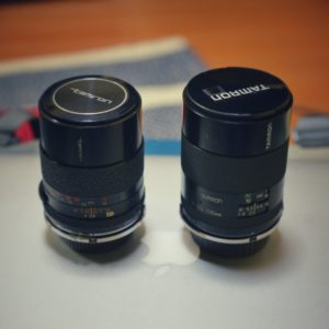 TAMRON CT-135(左)と03B(右)